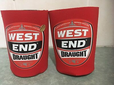 2 x WEST END Draught stubby can holder for home bar collector - NEW