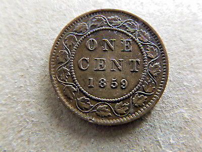 Canada 1859 One Cent Very Collectable Condition