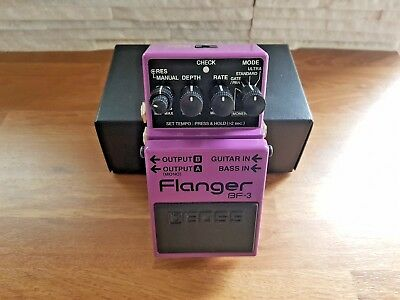 Roland Boss BF-3 Flanger Effects Pedal Boxed (BF3)