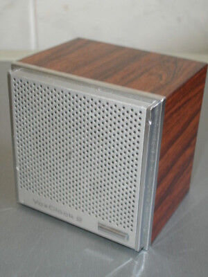 Vintage Vox Clock 2  Cube - Talking Synthesised Voice - Micronta - Working Order