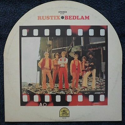 RUSTIX - BEDLAM 1969 RARE EARTH Rec. RS - 508 US LP