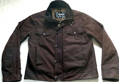 "Superb Barbour "" Drover "" Wax Jacket - Med  - Great Condition - V Rare £225"