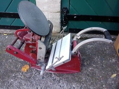 Adana Eight-Five letterpress printing press with loads of type and accessories