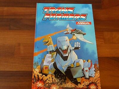 Rare The Transformers Annual 1992  Mint condition