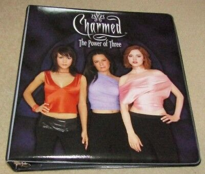 **Charmed The Power Of Three 2003 - Trading Card Binder + All 72 Cards**