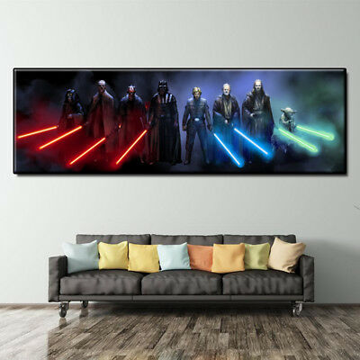 """Star Wars Movie Poster art HD painting canvas print home decoration wall 16""""X48"""""""