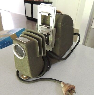 Vintage Waterworth Slide Projector - Good Condition but Not Working