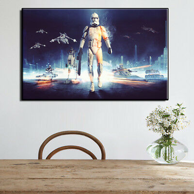 """Star Wars Movie Poster art HD painting canvas print home decoration wall 16""""X24"""""""