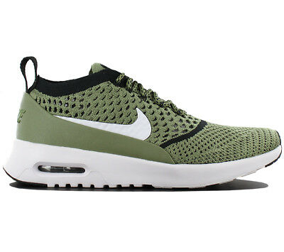 de6ec0e8254e9 Nike Womens Air Max Thea Ultra Flyknit Trainers Palm Green 881175 300 UK  6.5(70