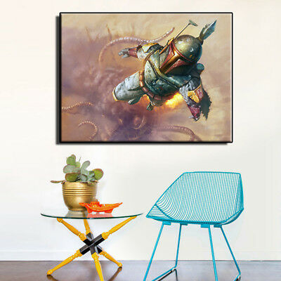 """Star Wars Movie Poster art HD painting canvas print home decoration wall 18""""X24"""""""