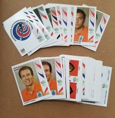 PANINI WORLD CUP SOCCER STICKERS (2006 Germany/2014 Brazil) - PICK 10