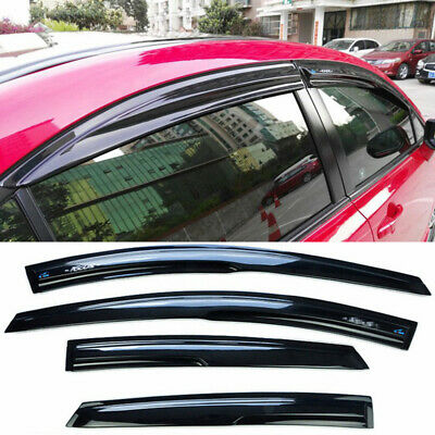 For Honda Civic Sedan 2006-2011 black Side Window Visors Rain Guard Deflectors