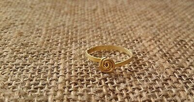 Ancient gold  Antique gold ring  Metal detector finds 100% original