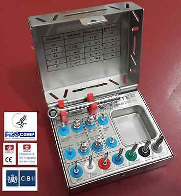 Dental Surgical Drill kit / Proffesional Surgical Implant Kit 15 PCs 11p