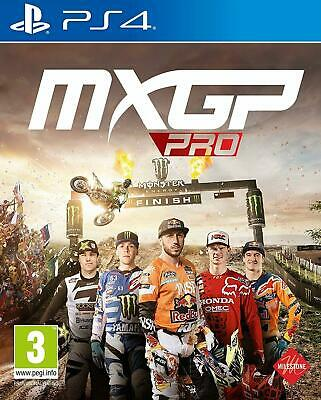MXGP Pro The Official Motocross Videogame (PS4 PLAYSTATION 4 VIDEO GAME) *NEW*