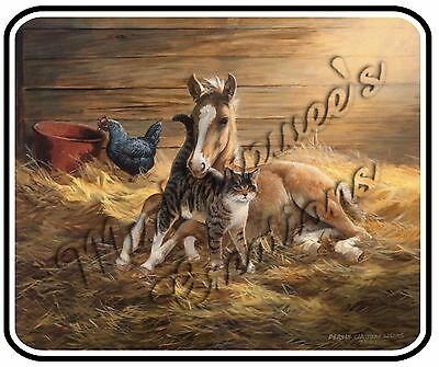 Western _ Fresh Hay Mouse Pad