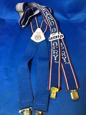 Grand Ole Opry Since 1925 Suspenders -Vintage. Grand Ole Opry
