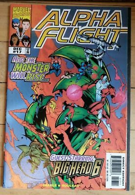 Alpha Flight #17 (volume 2). First Appearance Big Hero 6. NM Marvel Key Comic.