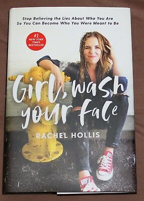 Girl, Wash Your Face by Rachel Hollis New Hardcover - New York Times Bestseller