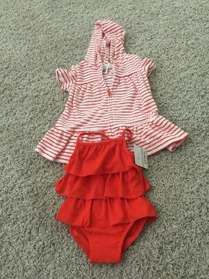 Carter's 6 Month Swimsuit And Cover Up Set