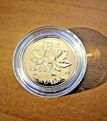 GEM PROOF 1983 Canada Penny - Maple Leaf-1 One Cent- CAN coin