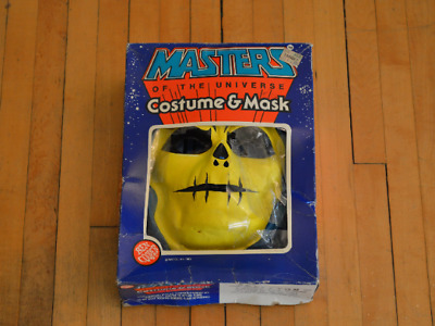 Ben Cooper Masters Of The Universe Large (12-14) Skeletor Costume and Mask MOTU