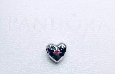 b200950ed Authentic Pandora Silver Charm Disney Minnie And Mickey Kiss #791443Enmx