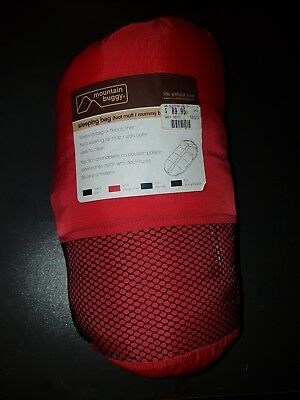 Mountain Buggy Footmuff Sleeping Bag. Will fit most prams.