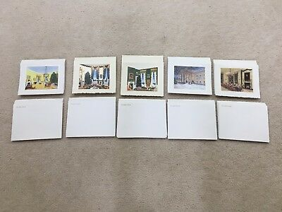 5 Official White House Christmas Cards with ENVELOPES - 1995,1996,1998,1999,2000