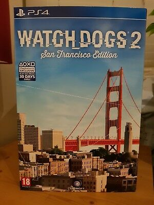 WATCH DOGS 2 SAN FRANCISCO EDITION PLAYSTATION 4 PS4 GAME -New and Sealed