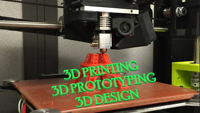 3D printing and Prototyping service from STL online library from £0.99 !!!