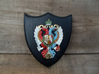 Russian Imperial Coat of Arms Wall Plaque