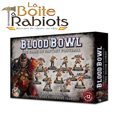 Warhammer Blood Bowl The Doom Lords Team Chaos
