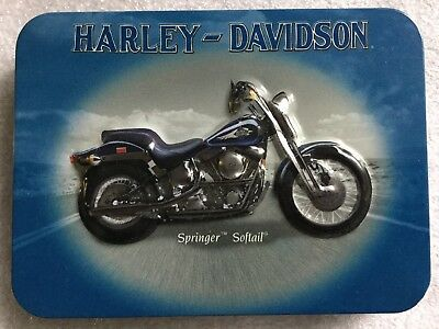 Harley Davidson Playing Cards in Collectible Tin Springer/Heritage Softail