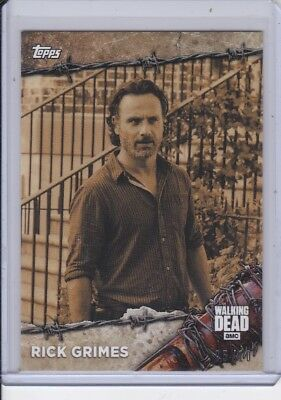 2017 Topps On-Demand The Walking Dead #1S Rick Grimes 05/10