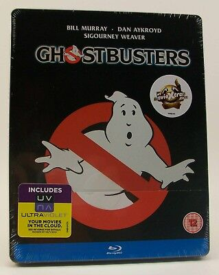 STEELBOOK Ghostbusters (Blu-ray Disc, 2012) New Region All