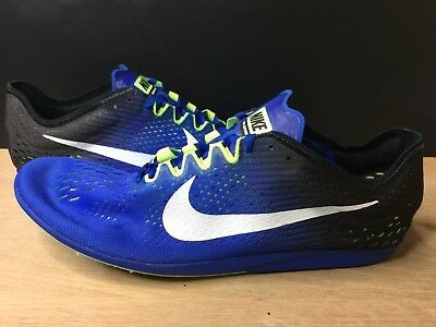 8372a8ed2780 Nike Zoom Matumbo 3 Distance Track Spikes Blue 835995-413 Mens Size 15