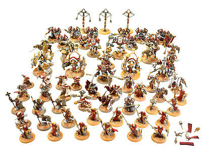 WARMACHINE Protectorate of menoth army WELL PAINTED