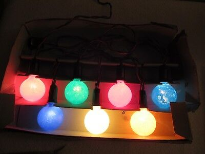 Vintage Dialco No CX 502 Decorative Holiday Lights
