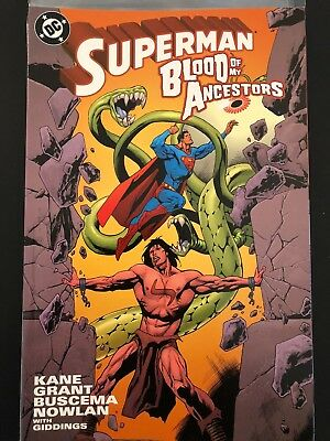 Superman Blood of My Ancestors TPB Trade Graphic Novel C34-60
