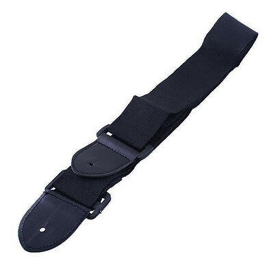 Durable Acoustic Folk Guitar Strap Adjustable Strap Bass Belt Guitar Strap