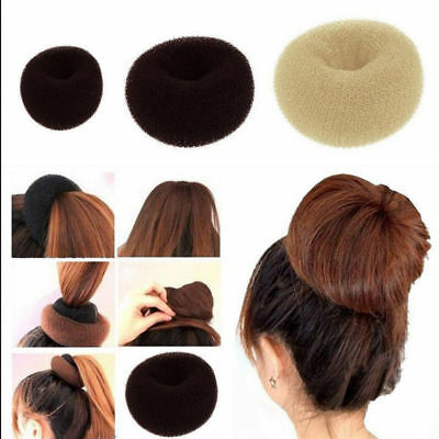 3pcs Hair Donut Bun Maker Hair Ring Styler Maker Round Chignon for Women