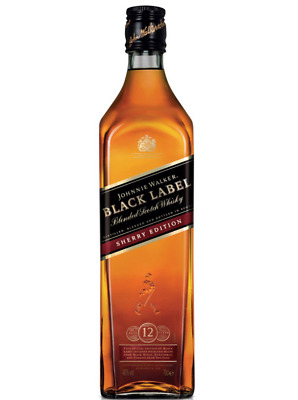 Johnnie Walker Black Label Sherry Edition Blended Scotch Whisky 700Ml