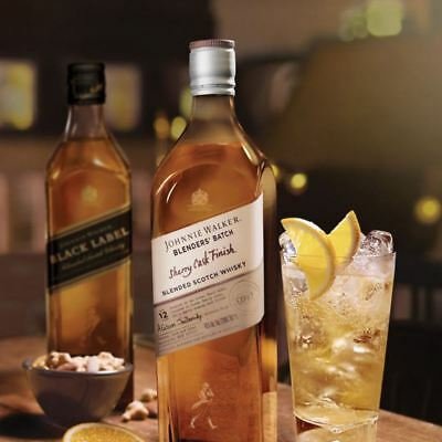 Johnnie Walker Blenders' Batch Sherry Cask Finish 12 Year Old Blended Scotch Whi