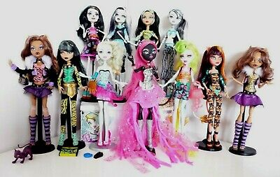 Monster High Dolls you pick one which ones you like many or one all in vgc no 5