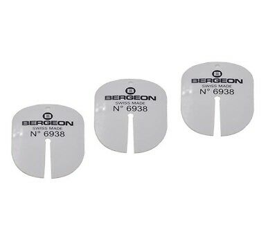 5 x Pieces Bergeon 6938 Watch Dial Protector Shim for Watchmaker Brand New