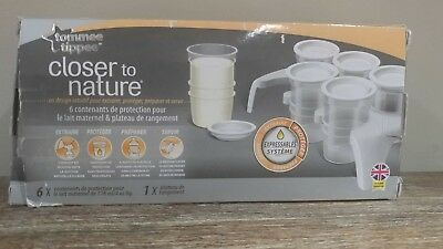 Tommee TippeeCloser to Nature Milk Storage Pods with tray