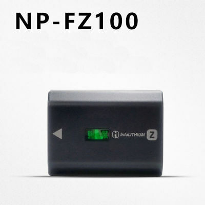 New NP-FZ100 battery for SONY ILCE-9 A9 A7RM3 A7RIII A7R3 2280mah