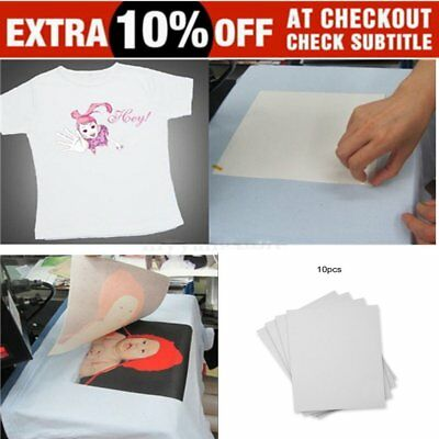 10/20/50/100 Sheets A4 Iron Heat Transfer Paper For The Light Cotton T-shirt OI
