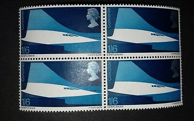 Concord postage stamps block gb.